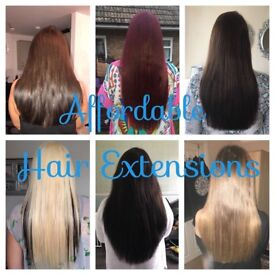 Micro ring hair extensions full head £115 all inclusive!