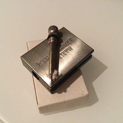 Benzinfeuerzeug als Streichholzschachtel Metall Feuerzeug