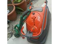 FLYMO vision compact 380 easy real lawnmower+strim cutter sale