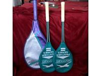 Slazenger Squash Rackets and Wilson Racket
