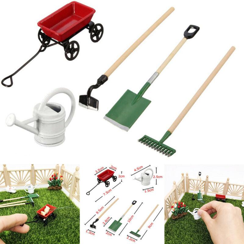 1/12 Miniature Dollhouse Set Fairy Garden Equipment Tools Wa