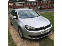 Golf S 5 dr 2009 1.6 Petrol manual FSH excellent condition!