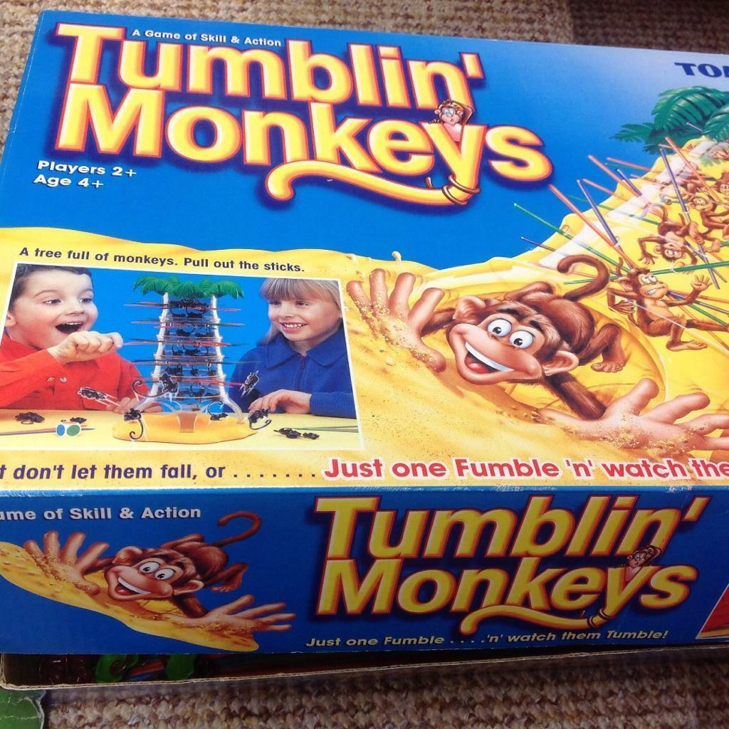 Tumblin Monkeys Game Tumblin Monkeys Game