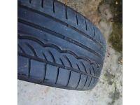 Mini Runflat Tyre 17 inch Dunlop SP1 sport