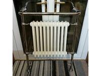 Heritage Bathrooms Clifton Heated Towel Rail - Chrome