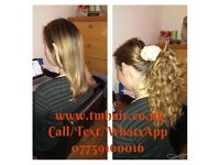 I Tip, Nano Ring, Micro Ring Extensions, Tape Extensions Mobile Hairstylist With Free Tangle Teezers