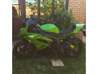 🔴 2012 Kawasaki zx6r, 12months mot, only *900* miles, just serviced, datataged