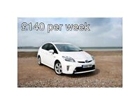 Pco Car Hire/Uber Ready/ Toyota Prius £130per week