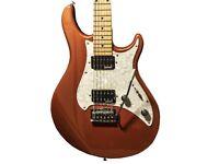 GUVNOR Electric Guitar GE300 In Metallic Finish c/w Hard case BNIB