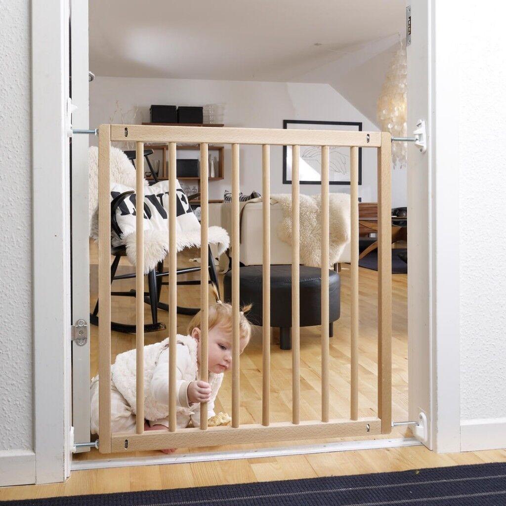 John Lewis Babydan No Trip Beechwood Safety Gate In Basingstoke