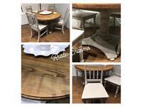 Lovely Farmhouse Table and Chair Set £295