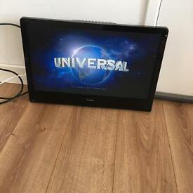 22 inch TV and DVD player