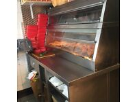 KFC chicken hotplate £1000display hennypenny with table very good condition