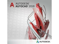 AUTODESK AUTOCAD 2018 -PC/MAC-