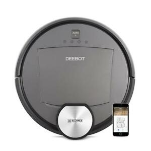 ECOVACS DEEBOT R95 Robotic Vacuum with the latest mapping technology, Wi-Fi perfect for bare floors and carpets, and hom