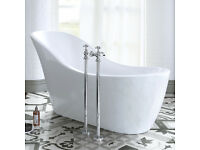 Bathroom Traditional Free Standing Bath Chrome Legs ONLY - BARGAIN!!!!