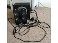 Logitech X-230 Multimedia Speaker System - 32 Watt