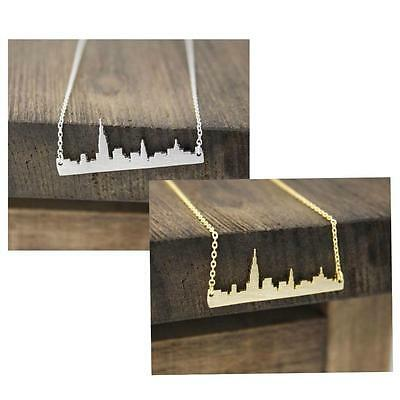 City Necklaces (NEW YORK SKYLINE NECKLACE 1.25