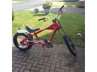 Boy's Stingray bicycle.