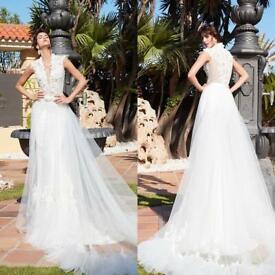Alessandro Rinaudo Lea Wedding Dress Brand New Size 16
