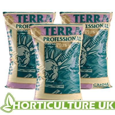 Canna Terra Professional Plus 50 Litres Quality Potting Soil Mix Medium **3 BAGS