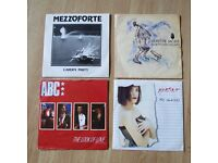 "Four 7"" Vinyl Singles from the 80's. Depeche Mode, ABC, Martika, Mezzoforte"