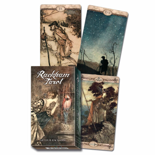 Arthur Rackham Tarot Deck (2019) Cards w/ Booklet NEW IN BOX by Lo Scarabeo