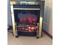 Coal effect, fan assisted electric fire