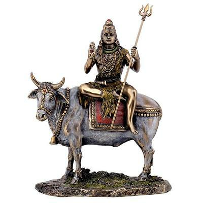 SHIVA ON NANDI THE BULL STATUE 9