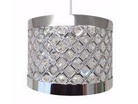 Brand New Still in Box Sparkly Ceiling Pendant Light Shade