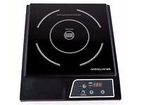 2x NEW Andrew James Digital Electric Induction Hob 2000 Watt
