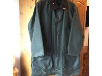 Mens Barbour Northumbria wax Jacket size C40/ 102cm