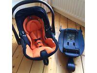 Kiddy Evo Lunafix Baby Car Seat and Isofix Base