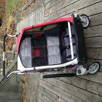 Double Chariot Stroller - $300