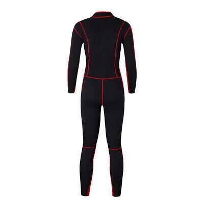 3mm Neopren Damen Neoprenanzug Jacke Black u0026 Red zum Tauchen Schwimmen