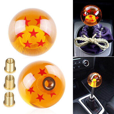 Toyota Supra Universal Fit (Universal Dragon Ball Z 7 Star 54mm Shift Knob With Adapters Will Fit Most Cars )
