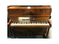 Welmar walnut upright piano, comes with guarantee and we can deliver