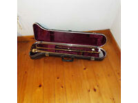 trombone B&H immaculate condition with case