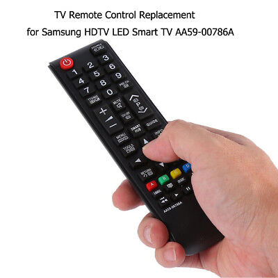 TV Remote Control Replacement for Samsung HDTV LED Smart TV AA59-00786A