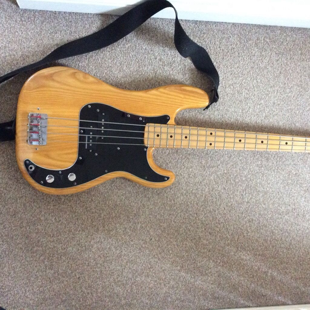 Fender Precision Bass Usa 1976 7 In Crewkerne Somerset Gumtree # Table Bass Tele