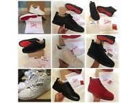 Christian Louboutin Trainers Sneakers Heels Loafers Slip Ons UK3 - UK11 Delivery