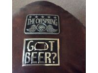 Belt buckles X2 As new