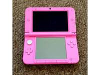 Nintendo 3DS XL Pink with Mario Maker and Pokemon