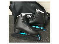 Brand New Boys Graf Bolero Figure Skates Size 36 UK 3.5
