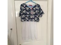 Boohoo Summer Print Dress
