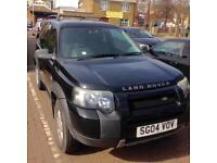Land Rover Freelander S 1.8 2004 3 Door Hardtop 2 wheel drive.