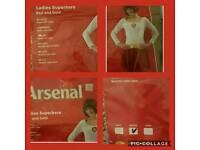 Arsenal women's superhero outfit