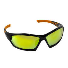 DuraDrive 26682 Safety Glasses with Ice Orange Mirror Lens (6 - Pack)