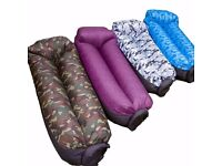 GLP Creations Inflatable Lounger Comfortable Inflatable Air Sofa Waterproof RRP £40
