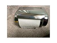 Stylish toilet roll holder